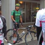 「新城幸也選手と一緒にはしろう!サイクリング」に参加