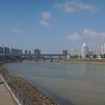 広島城ランニング