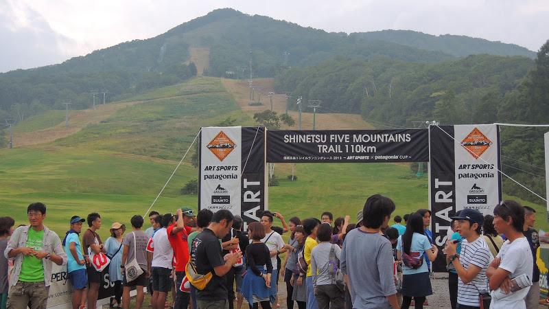 信越五岳トレイルランニングレース2013 レースレポート