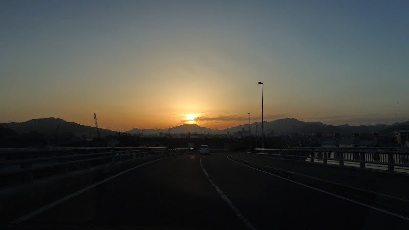 錦帯橋ランニング