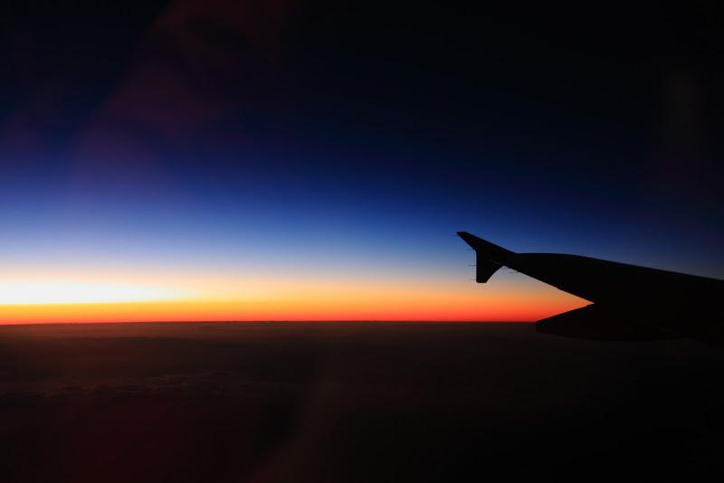 極上の夕焼け