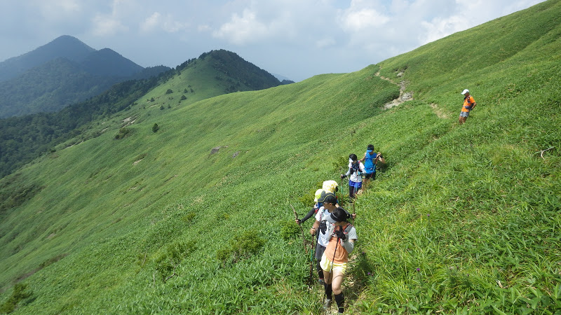 Training camp in Mt.Ishizuchi