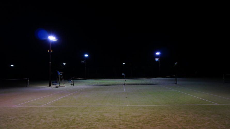 久しぶりにテニス