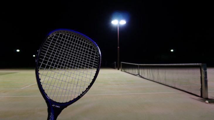 寒くてもテニス